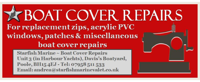 Starfish Marine - Boat Cover Repairs